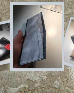 Three DCF wallets handy wallet credit card holder ultralight